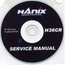 HANIX H36CR SERVICE MANUAL ON CD