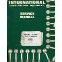 ORIGINAL INTERNATIONAL CONSTRUCTION EQUIPMENT H-90E PAY LOADER SERVICE MANUAL