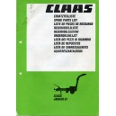 ORIGINAL CLASS JAGUAR 61 PARTS CATALOGUE