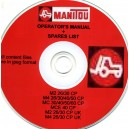 MANITOU M2 26/30CP, M4 26/30/40/50 CP, MC 30/40/50/60 CP OPERATORS MANUAL & PARTS BOOK