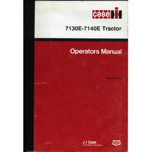 ORIGINAL CASE 7130E-7140E TRACTOR OPERATOR'S MANUAL