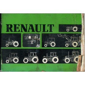 ORIGINAL RENAULT 145.14 TX OPERATION & MAINTENANCE MANUAL