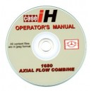 CASE 1680 COMBINE OPERATING MANUAL ON CD