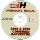 CASE 2365 & 2366 OPERATORS MANUAL ON CD