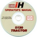 CASE 5120 OPERATOR'S MANUAL ON CD