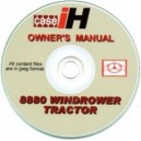 CASE 8880 WINDROWER TRACTOR OPERATORS MANUAL ON CD