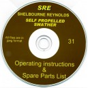 SHELBOURNE REYNOLDS SELF PROPELLED SWATHER OPERATING INSTRUCTIONS & SPARES LIST ON CD