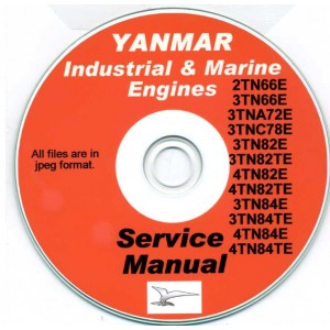 YANMAR 2TN, 3TN 4TN, 3TNA, 3TNC  + MORE SERIES SERVICE MANUAL ON CD