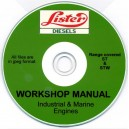 LISTER ST & STW MARINE & INDUSTRIAL ENGINES RANGE WORKSHOP MANUAL