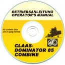 CLAAS DOMINATOR 85 OPERATORS MANUAL ON CD