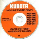 KUBOTA KGP GASOLINE ENGINE PUMP WORKSSHOP MANUAL