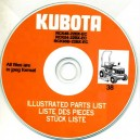 KUBOTA RCK-22BX SERIES PARTS MANUAL ON CD