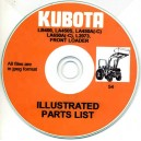 KUBOTA LA450S, LA450A(-C), LA650A(-C), L2073 PARTS MANUAL ON CD