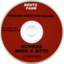 DEUTZ M660 & M770 COMBINE INSTRUCTION BOOK