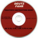 DEUTZ FAHR DX 3.10, 3.30, 3.50, 3.70, 3.90 OPERATORS MANUAL ON CD