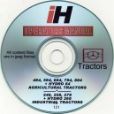 INTERNATIONAL HARVESTER 484, 584, 684, 784, 884, 248, 258, 278, 268 HYDRO OPERATOR'S MANUAL ON CD