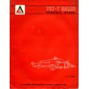 ORIGINAL ALLIS-CHALMERS 707-T BALER OPERATOR'S MANUAL