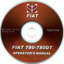 FIAT 780 & 780DT TRACTOR OPERATING MANUAL ON CD