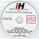 INTERNATIONAL HARVESTER HYDROSTATIC STEERING SERVICE MANUAL ON CD