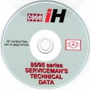 case IH series SERVICEMAN'S TECHNICAL DATA BOOK ON CD