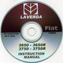 FIAT LAVERDA 3650-3650r & 3750-3750r INSTRUCTION MANUAL ON CD