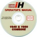CASE 1640&1660 COMBINE OPERATING MANUAL ON CD