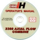 CASE 2388 COMBINE OPERATORS MANUAL ON CD