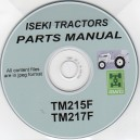 ISEKI SERVICE MANUAL, OPERATING MANUAL & PARTS CATALOGUE ON CD