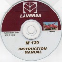 LAVERDA M 120 COMBINE INSTRUCTION MANUAL ON CD