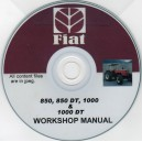 FIAT 850, 850 DT, 1000 & 1000 DT WORKSHOP MANUAL ON CD