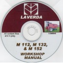 LAVERDA M112, M132, M152 COMBINES WORKSHOP MANUAL ON CD